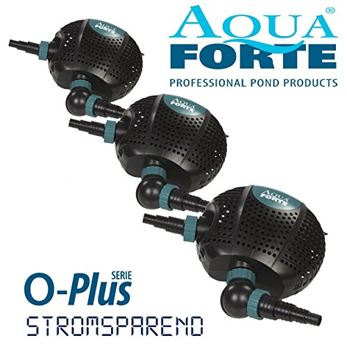 AquaForte Teich-/Filterpumpe O-Plus 13000, 110W, 13 m³/h, Förderhähe 5,5m