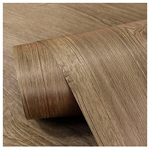 Papel pintado autoadhesivo de grano de madera vinilo muebles papel impermeable 40 cm x 5 m-Color de madera_5m