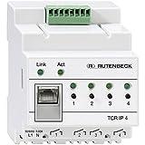 Rutenbeck 700802610 REG Fernschaltgerät über TCP Netzwerk 4-Fach, TCR IP 4
