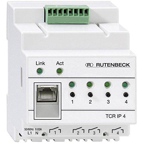 Rutenbeck 700802610 REG fjärrkontroll via TCP nätverk 4-fack, TCR IP 4