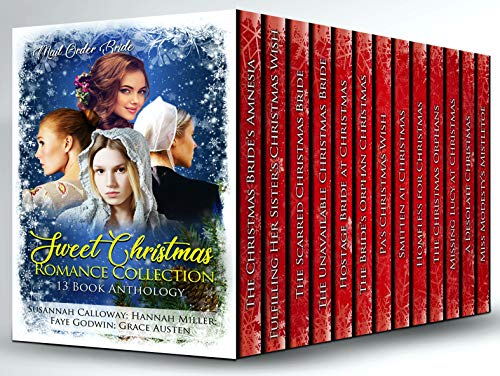 Sweet Christmas Romance Collection: 13 Book Anthology