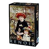 Unbekannt Puzzle 1000 Renoir, D-Toys 2