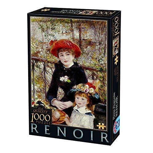 D-Toys 2 - Puzzle 1000 Renoir