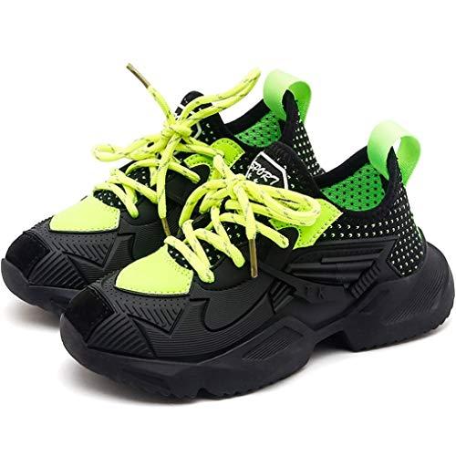 Niño niña Zapatos Deportivos Primavera y otoño de Malla cómodas Zapatillas Transpirables Zapatillas Deportivas al Aire Libre