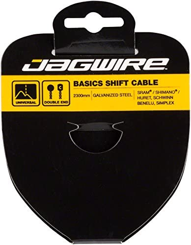 Max 90% OFF Jagwire - Bombing new work Basics Galvanized Universal fo Cable Shifter Bicycle