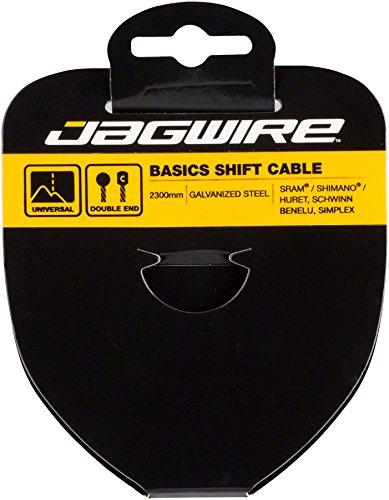 Jagwire Cable de Cambio de–Basics galvanizado–1.2x 2300MM–SRAM/Shimano 12rg2300Unisex, Gris