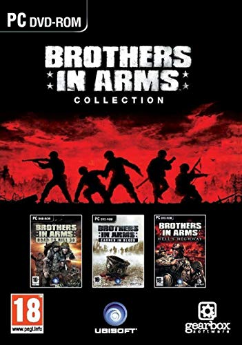 Brothers in Arms Collezione include Road to Hill 30, Earned in Blood, Hell's Highway PC DVD