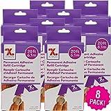 Xyron 150 Refill Cartridge 8/Pkg, 1.5'X20' Permanent 8 Pack