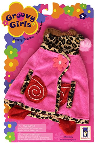 Manhattan Toy - 147310 - Poupée - Groovy Girls - Chilltastic Cape