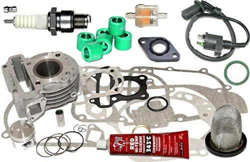 Unbranded. Racing Zylinder KIT 47mm Dichtung für REX RS 460 50ccm 4T bis2017 Zylinderkit