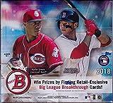 MLB 2018 Bowman Baseball Trading Card RETAIL Box