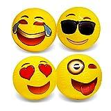 Emoji Beach Ball 12 Pack - 18 Inch Beach Balls