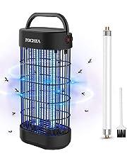 FOCHEA Insectenverdelger, elektrische led-insectenlamp, voor binnen, muggenval, insectenval, uv-insectenverdelger, met uv-licht, effectieve bestrijding van vliegende insecten, om muggenbeten te voorkomen