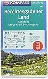 KOMPASS Wanderkarte Berchtesgadener Land, Königssee, Nationalpark Berchtesgaden: 3in1 Wanderkarte 1:25000 mit Aktiv Guide inklusive Karte zur offline ... Skitouren. (KOMPASS-Wanderkarten, Band 794)