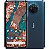 Nokia X20 – Smartphone 5G Dual Sim, pantalla 6.67' FHD+, 128 GB, 8 GB RAM, Quad cámara óptica ZEISS, Android 11, batería 4470 mAh, Nordic Blue [Italia]