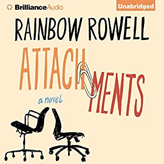 Attachments     A Novel              By:                                                                                                                                 Rainbow Rowell                               Narrated by:                                                                                                                                 Laura Hamilton                      Length: 9 hrs and 7 mins     2,571 ratings     Overall 4.0
