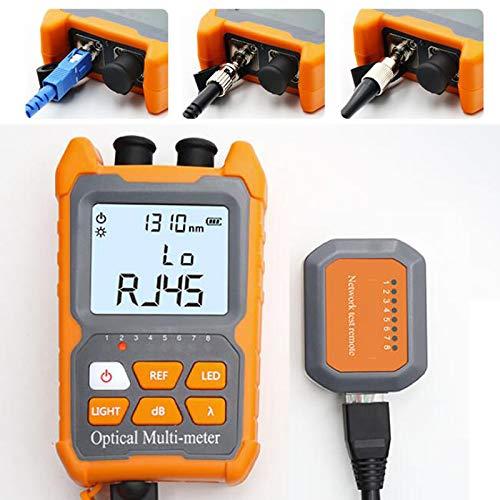D YEDEMC Mini Optical Fiber Power Meter FC/SC/ST universal...