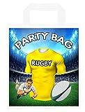 Bolsas para fiestas temáticas de rugby, para botín, eventos, colores Clermont (paquete de 6)