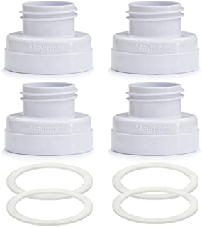 Maymom Conversion Kit for Medela Breast Pumps to Use with Phillips Avent Classic Bottles Avent Natural PP Bottle and Spect...