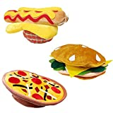 Funny Party Hats Food Hats - Cheeseburger Hat - Grill Theme Hats