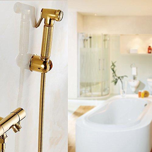 Douchekop, solide wandmontage douche toilet badkamer hand bidet luier sproeikit