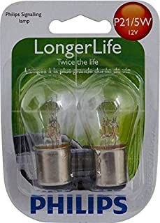 Philips 12499 LongerLife Miniature Bulb, 2 Pack
