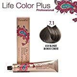 FarmaVita Life Color Plus Haarfarbe 100ml 7.1 Blond Asch