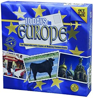 Out of the Box 10 Days in Europe Game