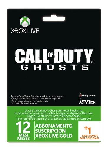 Microsoft - Tarjeta Live 12 Meses + 1 Mes Call Of Duty:...