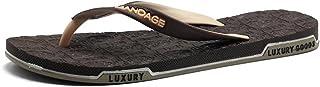 Men Sandals Mens Thong Classic Flip Flops Sandals Slipper up to Size 45EU Comfortable Solid Summer Beach Sandals Comfortable