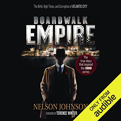 Boardwalk Empire  audiobook cover art