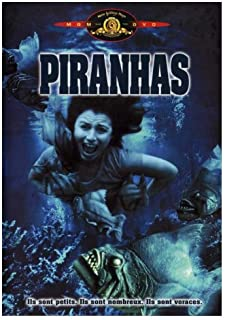 Piranha Movie Poster (27 x 40 Inches - 69cm x 102cm) (1978) French -(Bradford Dillman)(Heather Menzies)(Kevin McCarthy)(Keenan Wynn)(Barbara Steele)(Dick Miller)