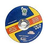 Disco de Corte Metal SG + SA 75mm x 1mm x 9.5mm(3') - pack de 20, para Herramienta del Aire