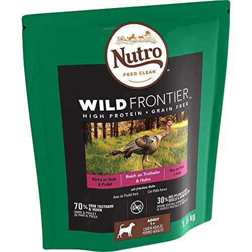 Nutro Wild Frontier Adulto Pollo y Pavo 1,5KG 🔥