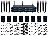 VocoPro 8 Channel UHF/DSP Hybrid System - UDH8ULTRA, Black, UDH-Ultra-8