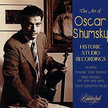 Historic Studio Recordings