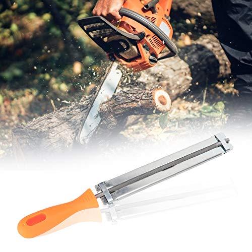 Afilador de cadena de motosierra fácil, herramienta de afilado de lima de cadena de motosierra para exteriores, accesorios de carpintería, afilador de cadena de motosierra de fácil archivo, 4.8 mm
