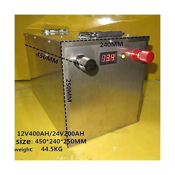 Lifepo4 – Batería de iones de litio para sistema solar, motor, hogar, barco, carritos de golf, batería de coche, 100ah…
