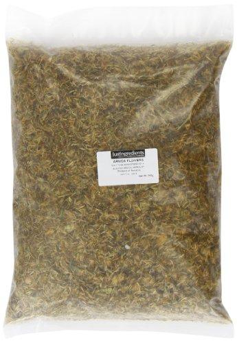 JustIngredients Arnikablüten montana, Arnica Flowers Montana, 1er Pack (1 x 250 g)