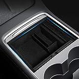für Tesla Model 3 2021 Mittelkonsole Organizer Armlehne Ablage Zubehör für Telefon Karte Schlüssel Münzen Model Y