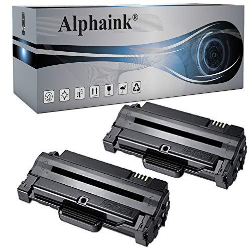 2 Toner Alphaink compatibile Samsung MLT-D1092S Per stampanti Samsung SCX4610 4300 (2 Toner)