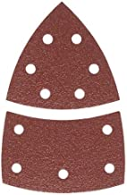 Bosch 2 609 256 A66 - Juego de hojas de lija de 10 piezas para lijadora múltiple