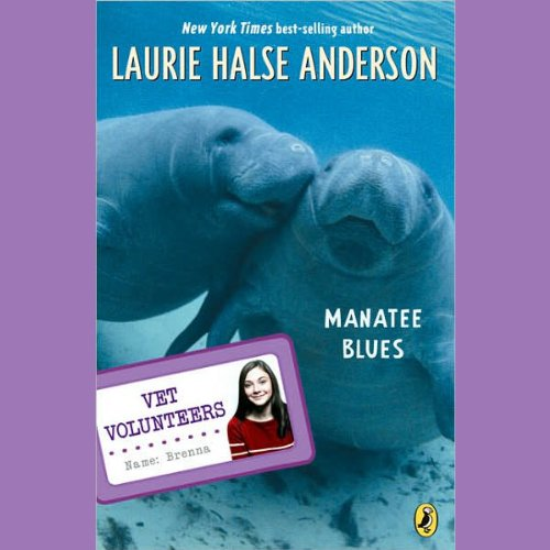 Manatee Blues audiobook cover art