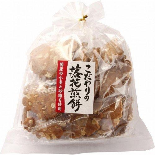 米倉製菓 落花煎餅 18枚 ×10セット