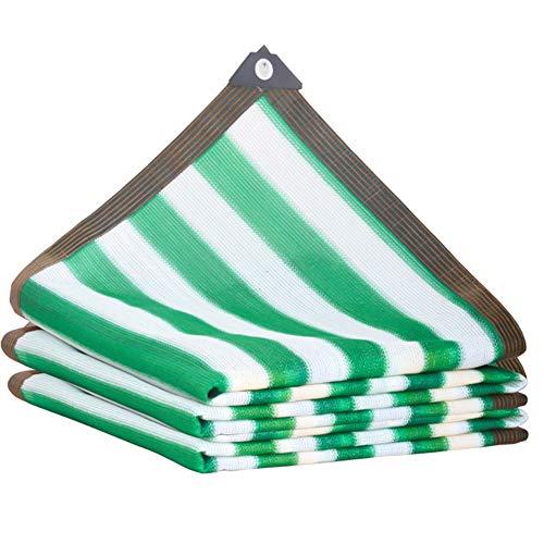 XHRHao Vela De Sombra Material De Polietileno De Alta Densidad Toldo De Tela Borde A Prueba De Lluvia Toldo Vela De Sombra para Plantas De Flores Durable (Color : Verde, tamaño : 3x5m)