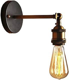 MX Light Fixture Retro Iron American Single Head Lamp Penthouse Study Hall Restaurant Retro Bedside Lamp E27 Lamp