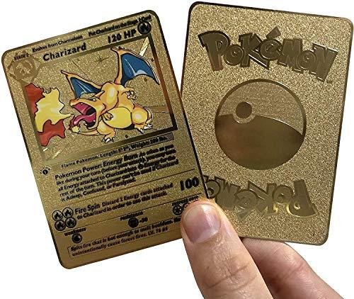 Gold Charizard- Pokemon Gold Metal …