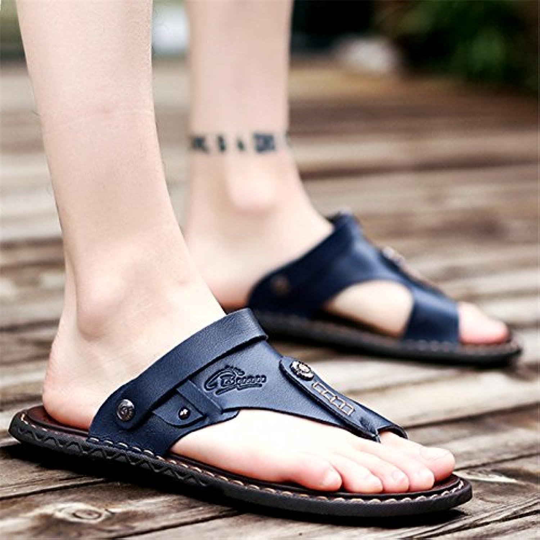 @Sandals New Summer Toe, Beach shoes, Men'S Flip Flops, Summer Skid Slippers.