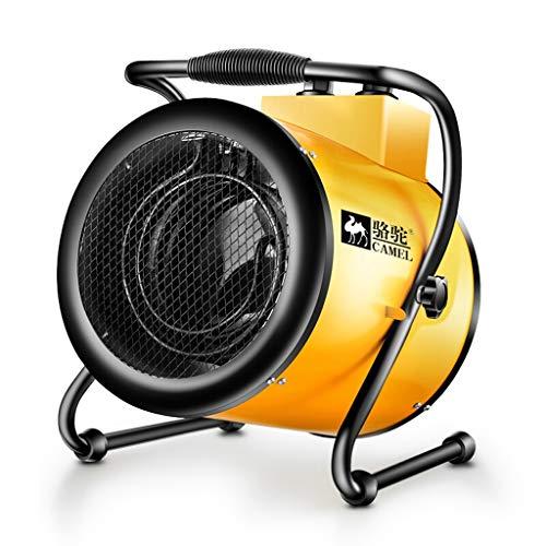 Lxn Calentadores industriales de Alta Potencia al Aire Libre Amarillos, Calentadores eléctricos ahorros de energía a Prueba de Agua, Fiebre del Tubo de calefacción (Tamaño : 9000W 380V)