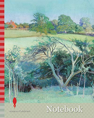 Notebook: Upton, near Tenbury, Worcestershire, c.1823-1871 Ormond Edwin Gollins (d.1944), Tree, Landscape, Watercolour, West Midlands, Grass, Blue ... history, Architecture, House, Works on Paper